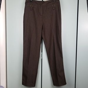 Cato brown pants size 12 NWT  -c8